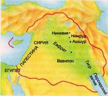 Карта ассирии 71 8 кб